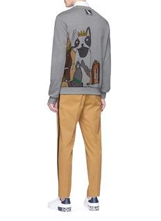 Dolce & Gabbana Dog print sweatshirt