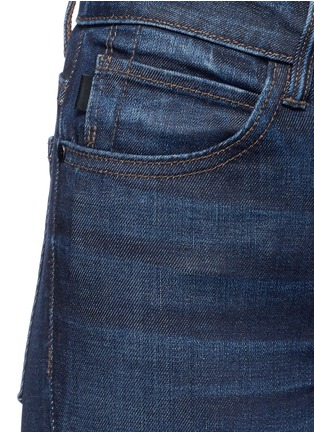 细节 - 点击放大 - HELMUT LANG - 微水洗混棉牛仔裤