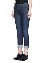 'Ankle Skinny' whiskered jeans