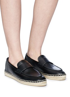 Vince 'Daria' leather espadrille loafers