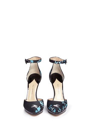 Paul Andrew-'Kashi' China Club floral d'Orsay pumps