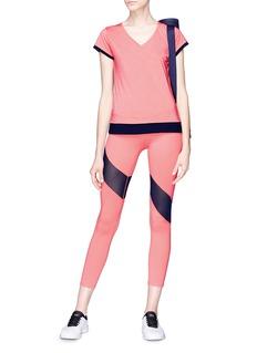 EleVen by Venus Williams 'Goddess Moxie' mesh panel performance leggings
