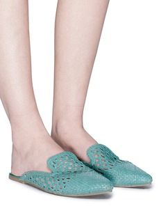 Sam Edelman 'Navya' open weave leather slippers