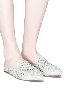 Sam Edelman 'Navya' open weave leather slippers