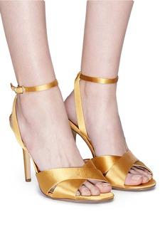 Sam Edelman 'Aly' cross strap satin sandals
