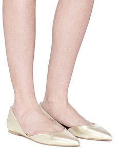 Sam Edelman 'Rodney' metallic leather d'Orsay flats