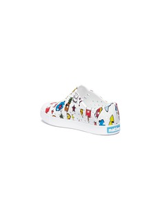 Native 'Jefferson' mixed graphic print perforated toddler slip-on sneakers