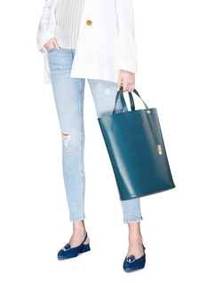 Sophie Hulme 'Exchange North South' leather tote
