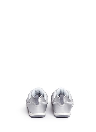 Back View - Click To Enlarge - New Balance - '574' metallic faux leather kids sneakers