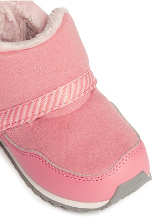 Detail View - Click To Enlarge - New Balance - '996' strap jersey toddler booties