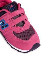 '574' suede mesh toddler sneakers