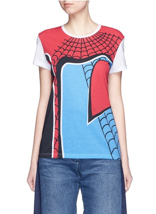 Main View - Click To Enlarge - Valentino - Super-H' Spiderman print T-shirt