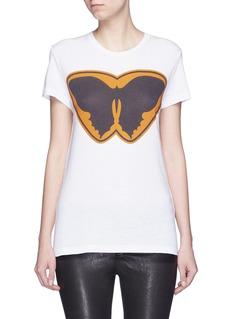 VALENTINO'Batman' butterfly print jersey T-shirt