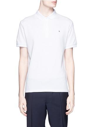 首图 - 点击放大 - VALENTINO - 铆钉装饰纯棉POLO衫