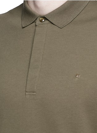 Detail View - Click To Enlarge - Valentino - Rockstud polo shirt