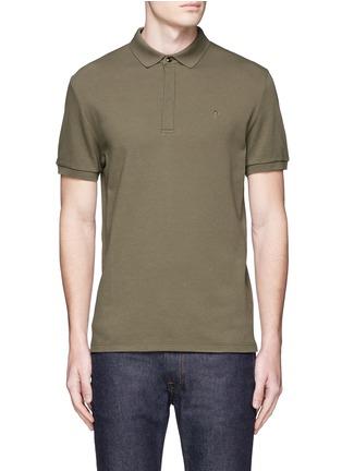 Main View - Click To Enlarge - Valentino - Rockstud polo shirt