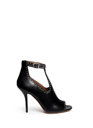 Main View - Click To Enlarge - Givenchy - 'Elegant' stud leather T-strap sandals