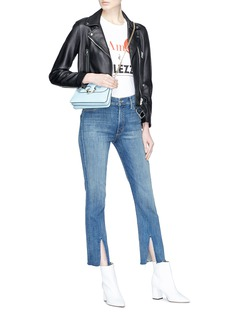 MOTHER 'Insider' split cuff jeans