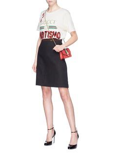 Gucci 'Spirtismo' slogan logo print oversized T-shirt