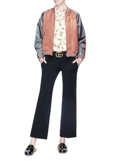 Gucci GG buckle cropped pants