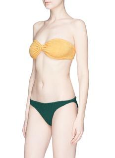 Hunza G 'Jean' seersucker bikini set