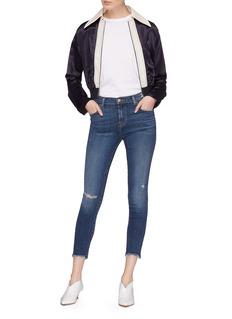 J Brand 'Alana' distressed cropped skinny jeans