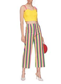 STAUD 'Maui' stripe culottes