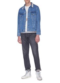 Remi Relief Stripe collar denim jacket