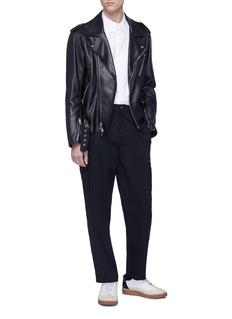 Helmut Lang Wool twill cargo pants