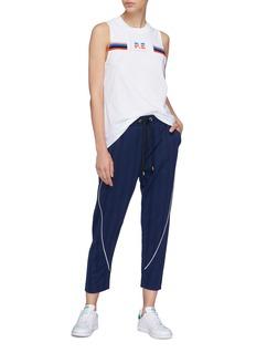 P.E Nation 'Spirit' stripe track pants