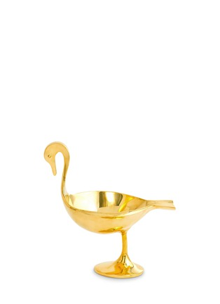 Main View - Click To Enlarge - Jonathan Adler - Brass medium bird bowl