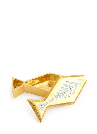 - Jonathan Adler - Brass fish box