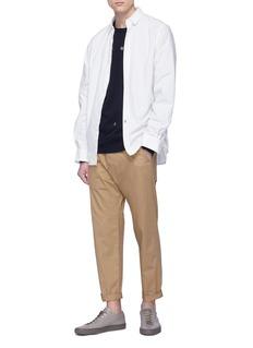 bassike x Jonathan Zawada slogan print sweatshirt