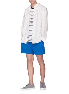 bassike Twist seam stripe organic cotton T-shirt