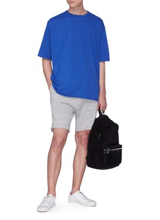 bassike French terry track shorts