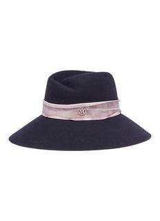 Maison Michel 'Rose' rabbit furfelt fedora hat