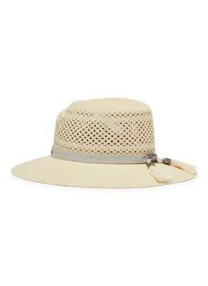 Maison Michel 'Virginie' brisa straw openwork fedora hat