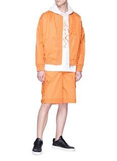 Feng Chen Wang Twill cargo shorts