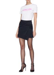Helmut Lang Knot mini skirt