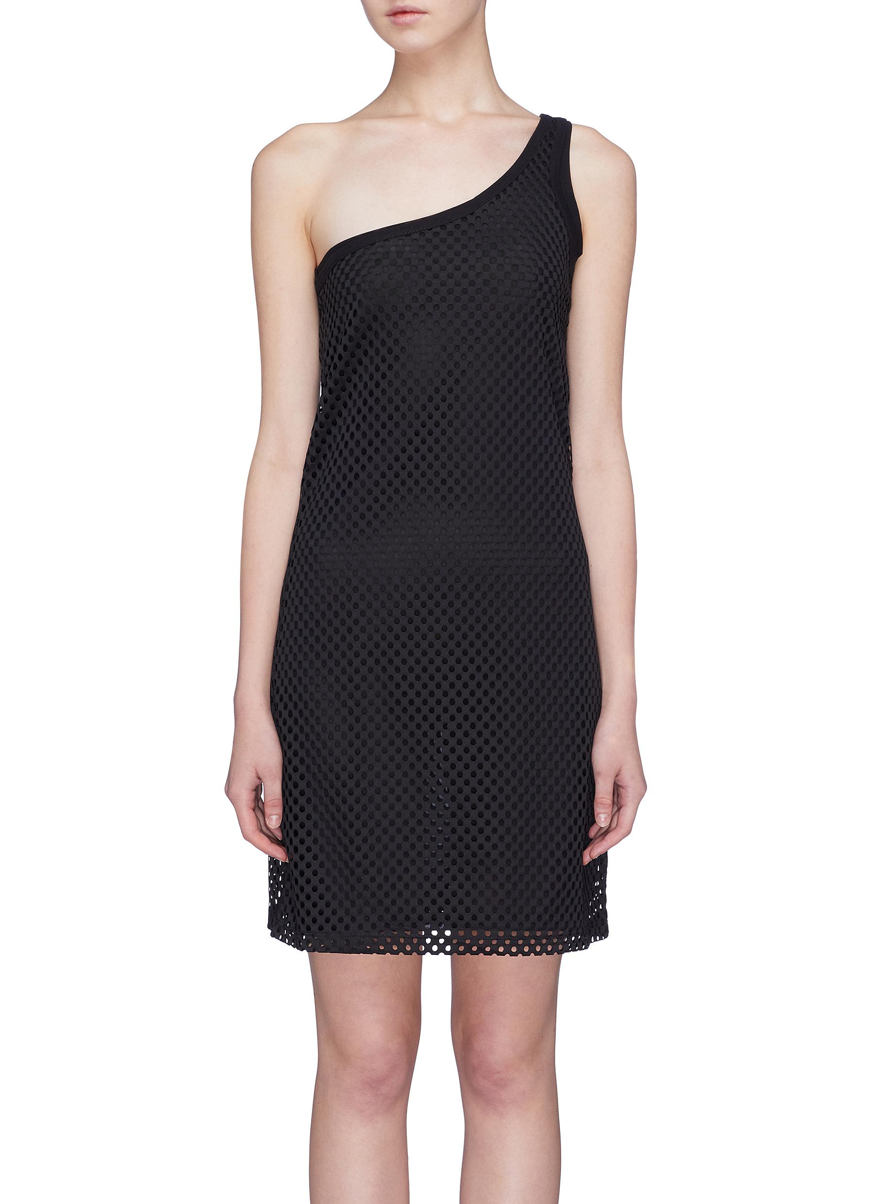 Footlocker Pictures For Sale Outlet Footlocker Black Mesh One-Shoulder Dress Opening Ceremony Authentic For Sale Release Dates Cheap Online 0Rv2btepbO