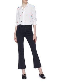 Equipment 'Essential' star print silk crepe shirt