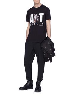 NEIL BARRETT ARTOHOLIC印花棉质T恤