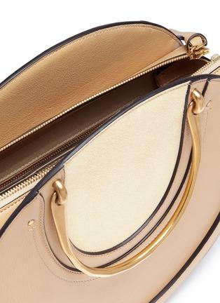 Detail View - Click To Enlarge - Chloé - 'Pixie' bracelet handle round shoulder bag