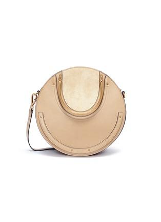 Main View - Click To Enlarge - Chloé - 'Pixie' bracelet handle round shoulder bag