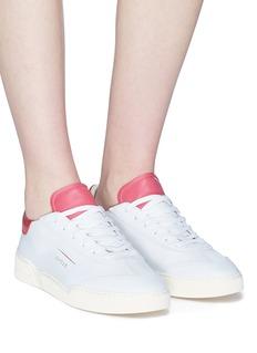 GHŌUD Slit quarter leather sneakers