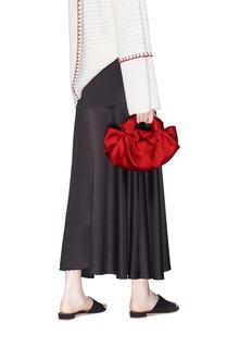 The Row 'The Ascot' small silk satin bag
