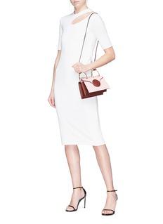 Danse Lente 'Mini Phoebe' spiral handle leather crossbody bag