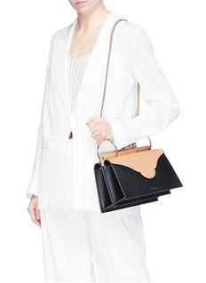 Danse Lente 'Phoebe' spiral handle leather crossbody bag