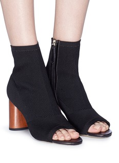 Pedder Red 'Bianca' knit sock sandal boots