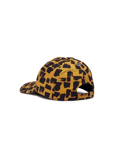 Dolce & Gabbana Logo patch brush stroke print baseball cap